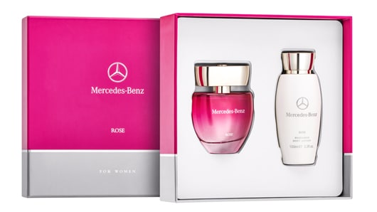 Mercedes-Benz Parfums Rose, 2er-Set, 60 ml